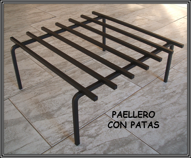 Chimeneas sierra paelleros especiales para barbacoas - Accesorios barbacoas de obra ...