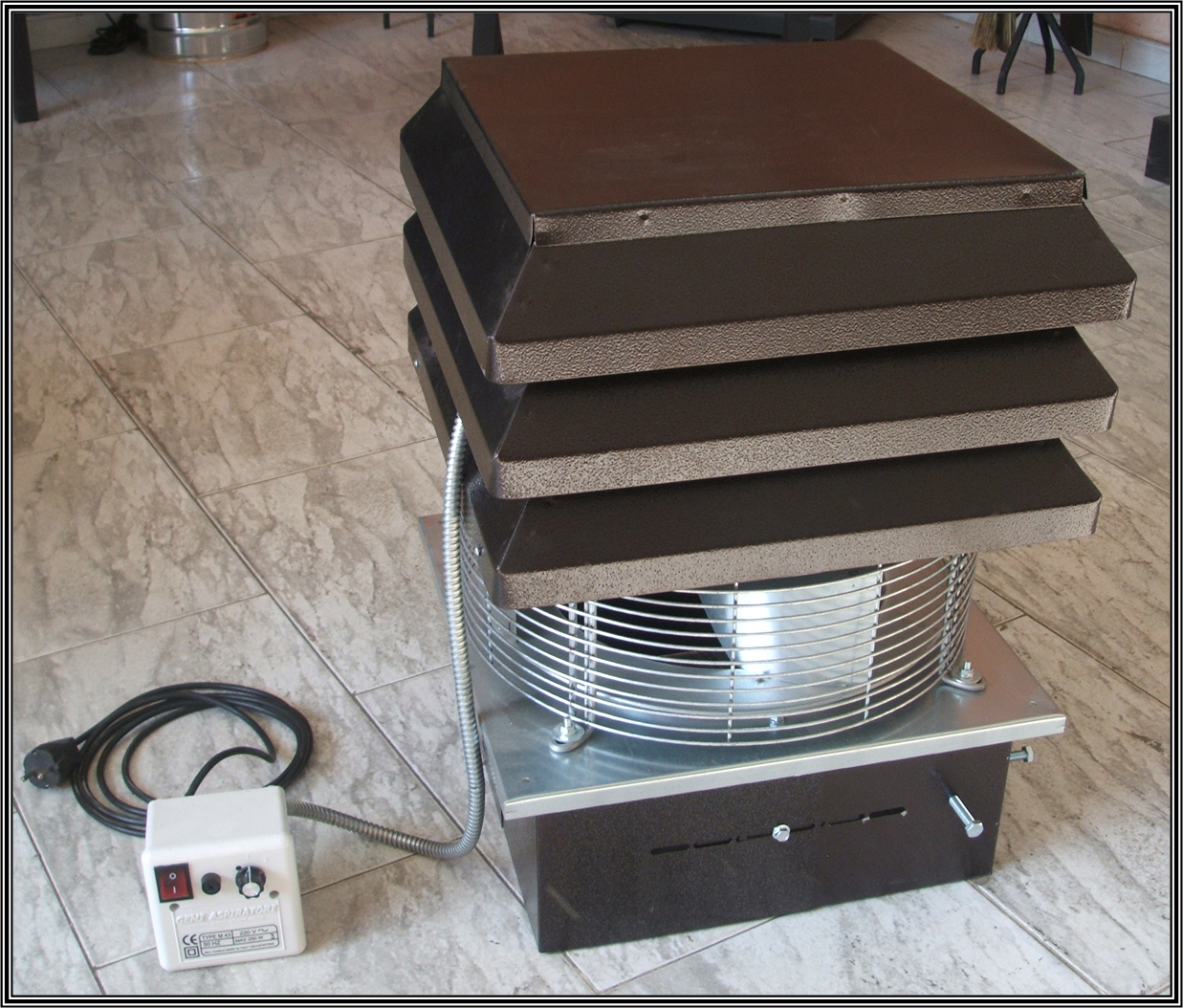 Chimeneas sierra aspirador de humo para chimeneas - Accesorios para chimeneas decorativas ...