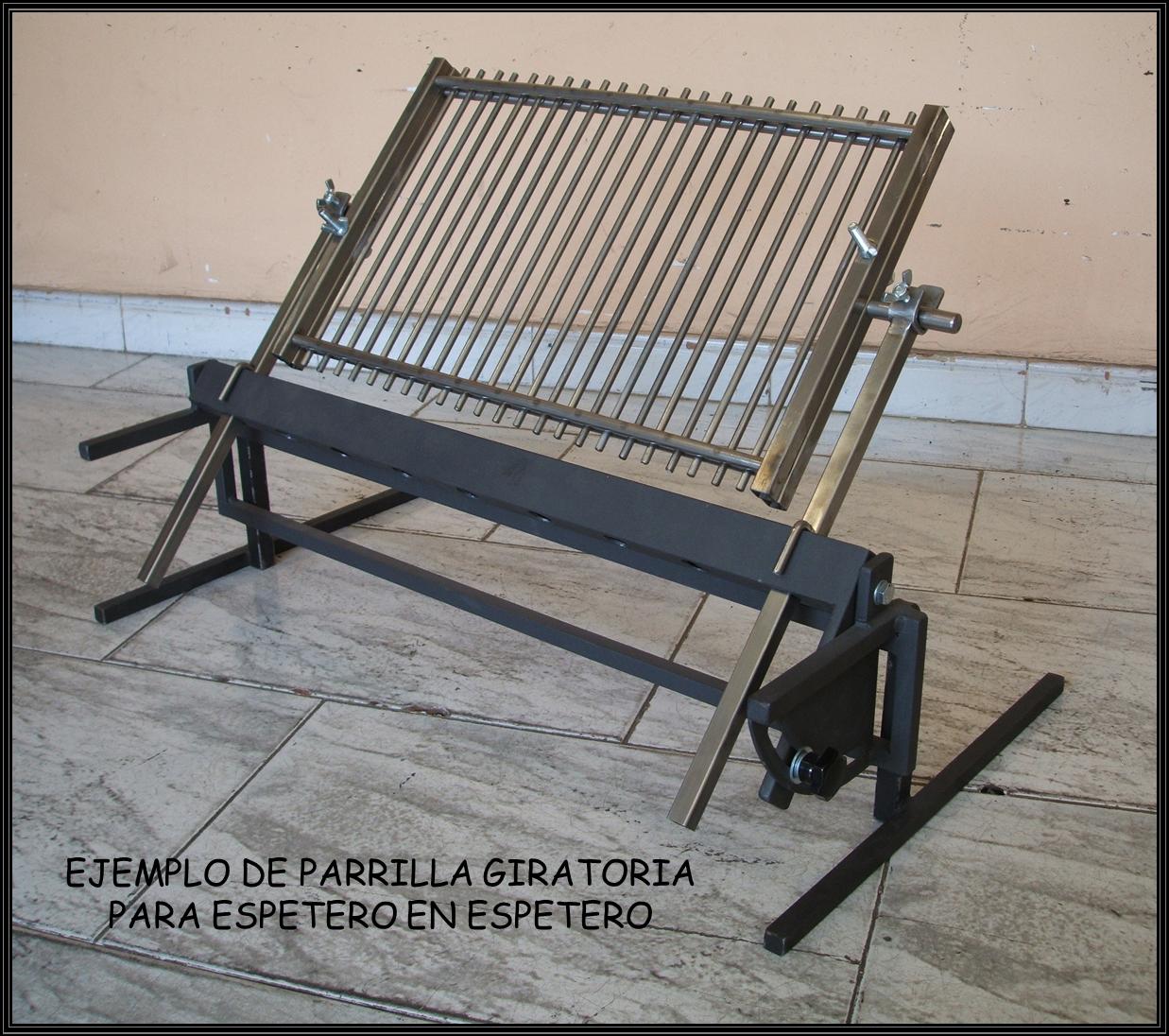 Chimeneas sierra espetero regulable de encaje frontal - Cocinar en la chimenea ...