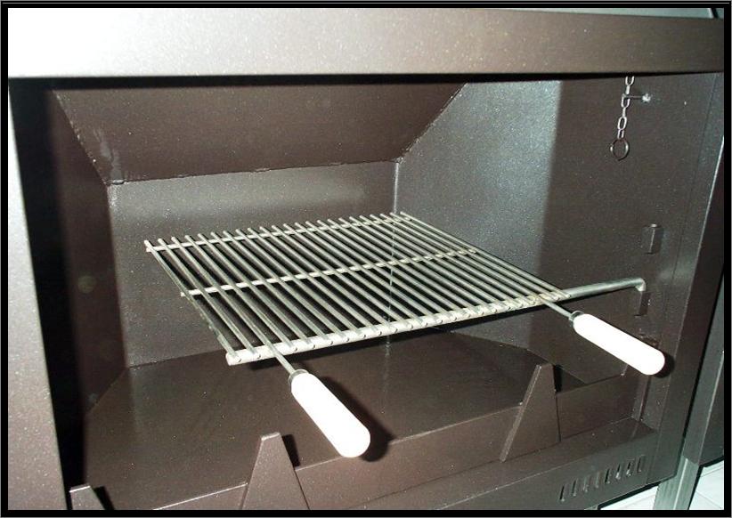 Chimeneas sierra parrilla de asado para chimeneas - Accesorios barbacoas de obra ...