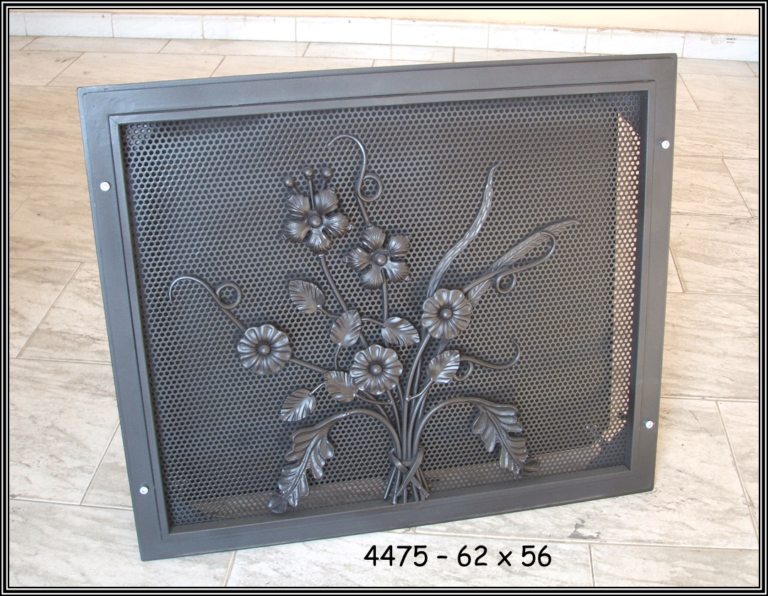 Chimeneas sierra rejillas decorativas para chimeneas - Rejillas de ventilacion para banos ...