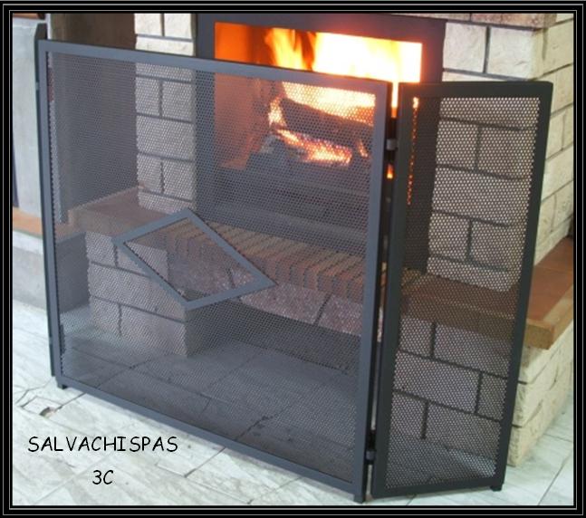 Chimeneas sierra salvachispas para chimeneas - Protector chimenea ninos ...