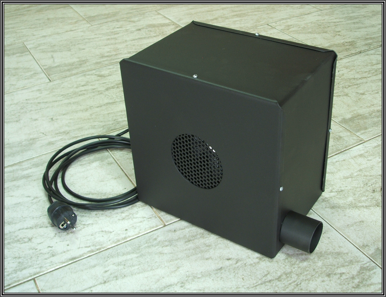 Chimeneas sierra caja de turbina para recuperador de calor - Salvachispas para chimeneas ...