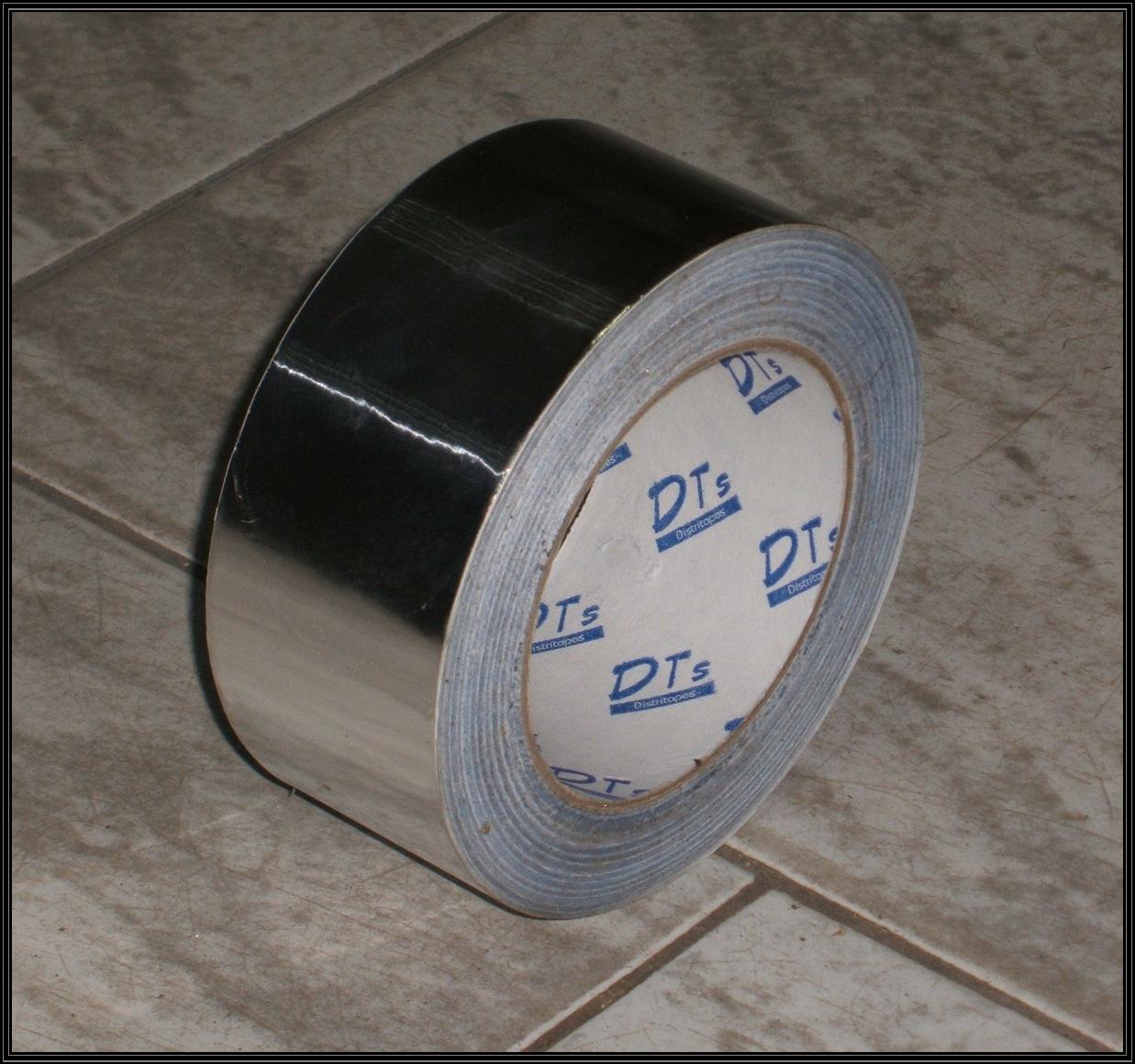 Chimeneas sierra cinta adhesiva de aluminio - Tubo de chimenea ...