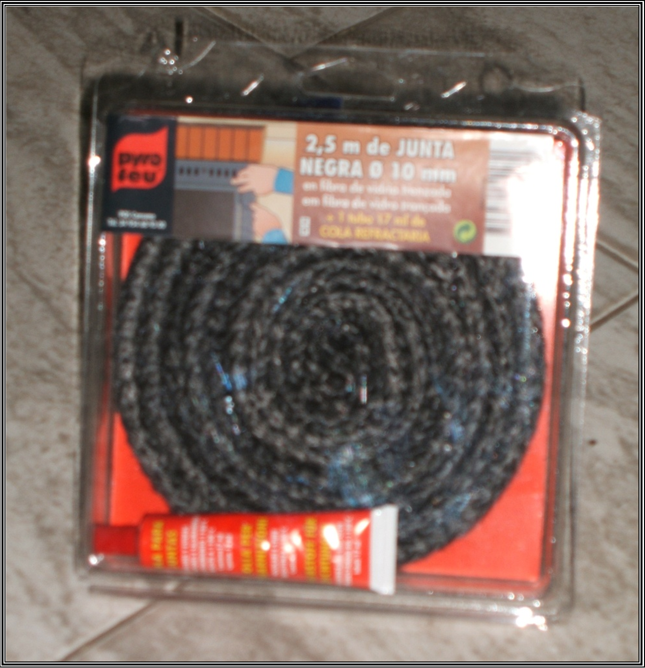 Chimeneas sierra cord n para juntas de fibra de vidrio - Puertas de vidrio para chimeneas ...