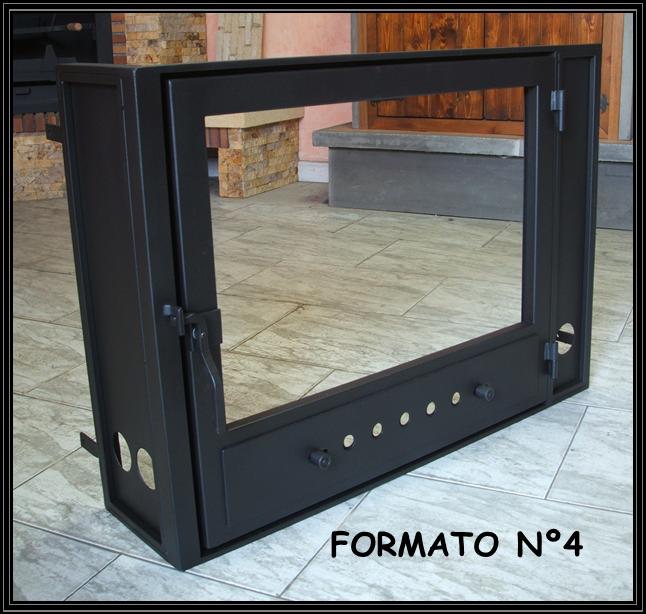 Como hacer una puerta para chimenea fabulous puertas para for Puertas para chimeneas