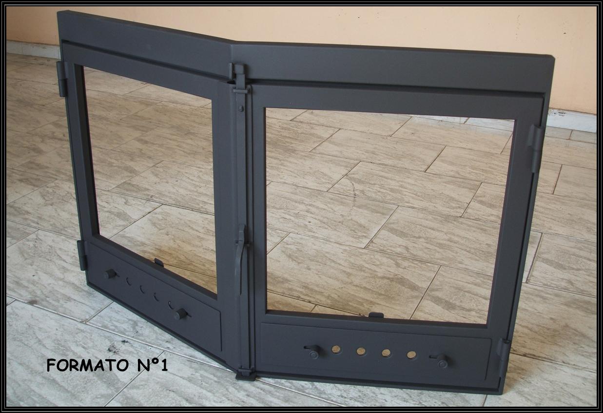 Chimeneas sierra puertas para chimenea en prisma - Puertas de vidrio para chimeneas ...