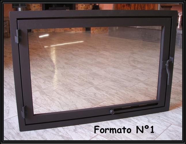 Chimeneas sierra puertas simples para chimeneas - Puertas de vidrio para chimeneas ...