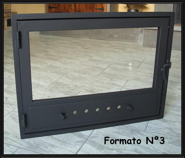 Chimeneas sierra puertas simples para chimeneas - Cristal vitroceramico chimenea ...