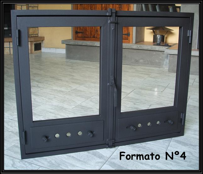 chimeneas sierra puertas simples para chimeneas