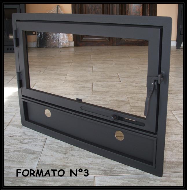 Puertas para estufas de lea finest awesome interior de - Puertas para chimeneas leroy merlin ...