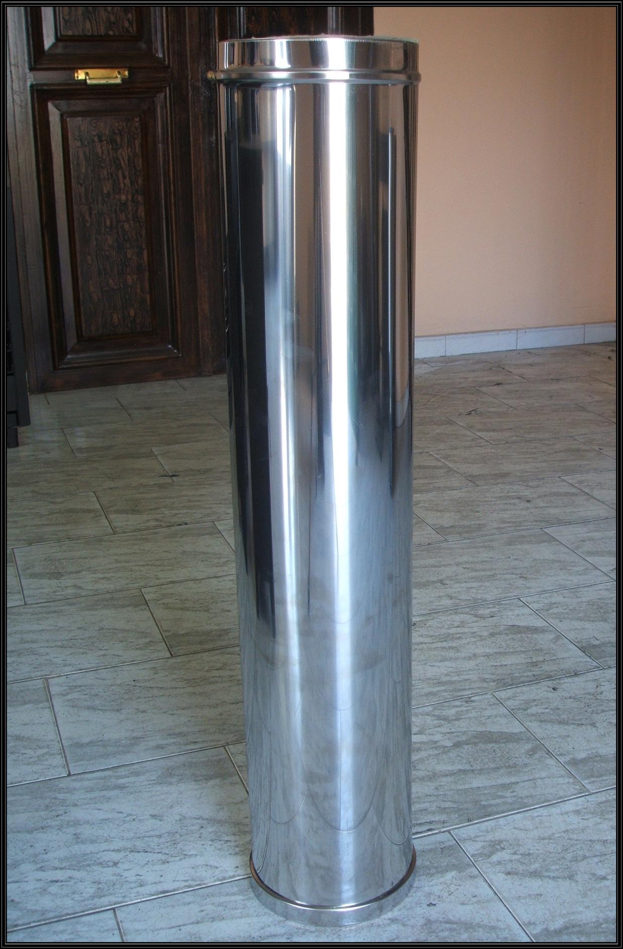Chimeneas sierra tubo de doble pared - Tubos de acero inoxidable para chimeneas ...
